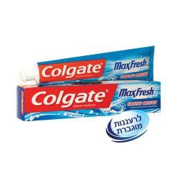 """קולגייט משחת שיניים מקס פרש כחול 125 מ""""ל"""