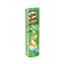 פרינגלס שמנת בצל 158 גרם