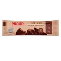 פראוד חטיף חלבון דאבל שוקולד 50 גרם