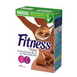 פיטנס שוקולד דגני בוקר 375 גרם