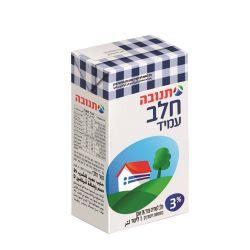 חלב עמיד 1 ליטר 3% בקרטון