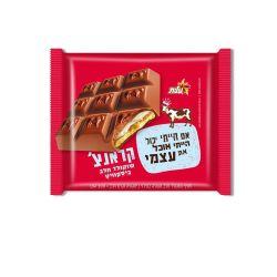 שוקולד פרה קראנץ עם ביסקוויט שוקולד 100 גרם