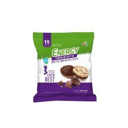 אנרג'י פריכיות תחתית שוקולד מריר 70 גרם