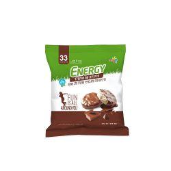 אנרג'י פריכיות מצופות שוקולד חלב 70 גרם